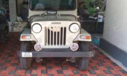 Perfect condition major jeep with new tyres and well