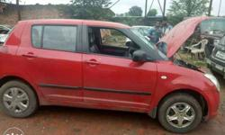 I m selling my swift car red colour full tite car
