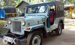 Mahindra jeep 2008 model all documents clear please
