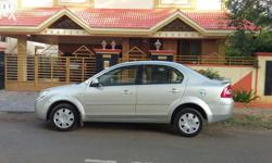 2009 Ford Fiesta ZXI ABS silver color single owner