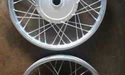 2010 /over STD Bullets Wheel rim use only 12000kms.