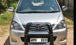 Vehicle information 2010 Toyota Innova [2009-2012] 2.5