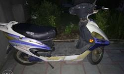 Hero electric Maxi scooty in running condition. Full