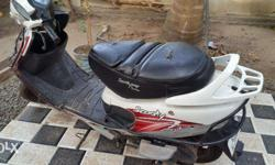 Single used scooty pep+ for sale