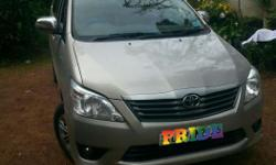 Innova showroom condition 4 new tyres lcd sterio