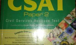"2014 edition but fully new ""cracking CSAT"" Arihant"