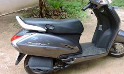 honda activa gray colour showroom condition full