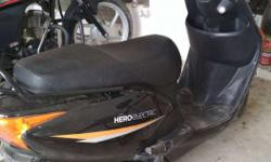 Hero electric new scooty 55 km ek bar charj karne par