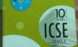 2017 Examination 10 Years ICSE Book Good condition