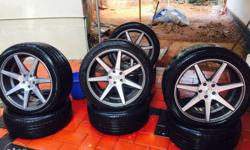 20 inch vossen alloy wheel 275/45/20