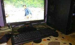 "20"" Samsung LED screen keyboard mause 1 TB harddisk 4"