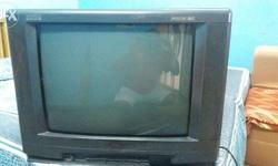 "21"" BPL color television with remote control in"