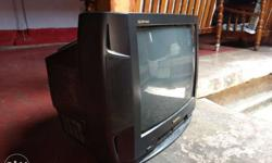 "21"" Color TV from Panasonic."