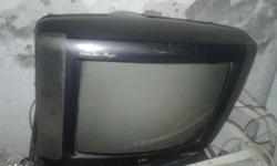 "21"" Working TV with Tata sky HD set top box for sell in"