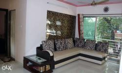 Description Full Furnished Flat , 800 Carpet Area, with