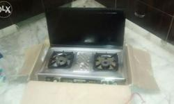 2 burner gas stove in good working condition
