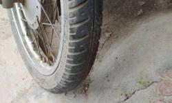 2 CEAT Tyre. I want to sell my bike's Tyre. I was
