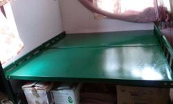 2 Single New Steel cots, of 6 x 3 feet ,with 18 gauge ,