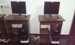 2 systems sre available. Core 2 dual processor 2.7 ghz