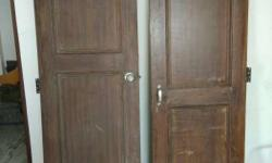 Wooden door 6ft x 2.5 ftn