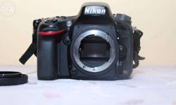 *** SALE*** 2 year old Nikon D600 Full Frame Camera