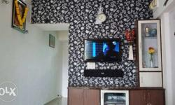 2bhk penthouse fully furnished with A.C in both