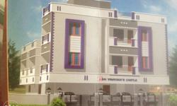 2bhk with covered car parking behind velammal school