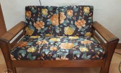 2pcs 2 seater made to order sofas & centre table in