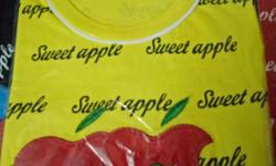 Girls tops sweet apple Brand new sizes 3yrs to 10yrs