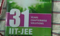 31 Years Chapterwise Solution Iit Jee Physics Book
