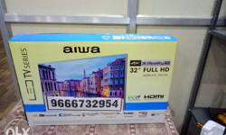 32'' Aiwa Flat Screen Television Box,with warranty ph,9
