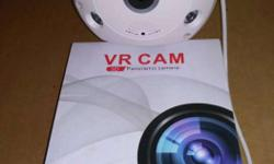 360° Wireless IP Night Vision CCTV Camera Package with