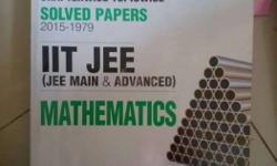 A set of 3 books containing past year iitjee mains and