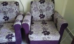3+1+1 sofa set for sale. The sofa is 1 and half years