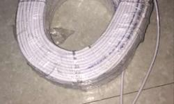 White Coated Wire