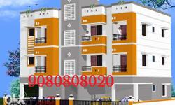 3 BHK Brand New Apartments for Lease in Madipakkam Near