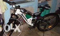 i have used just 3 monts it really good bicycle i ever