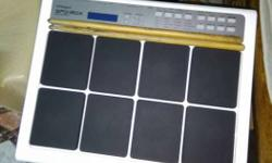 3 months used roland spd 20x music pad