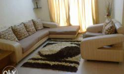 3 seater L shape sofa +2 seater