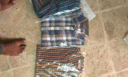 3 shirts size m. new not open