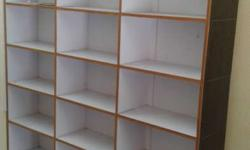 3 wooden racks to sell urgently usefull for shops each