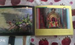 3D books , 1) gurudevan , 3d DVD of gurudeva , and 3D