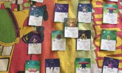 40+pokemon cards