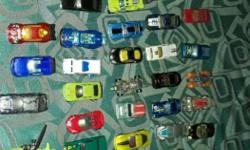 43 hot wheels cars. 1 colour changer , 1 helicopter, 1