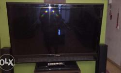 "46"" lcd led televisin 1080p full hd with inbuilt Yamaha"