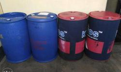 Brand: 4 Big Size Drum Condition - Almost New and Good