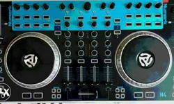 4 channel Dj console brand new