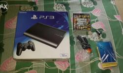 4 month old ps3 in vry good condition with samsung