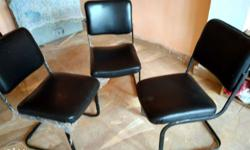 4 New chairs fully comfort