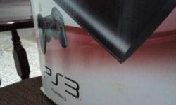 500 GB Sony PS3 Console Box Good condition hdmi wire